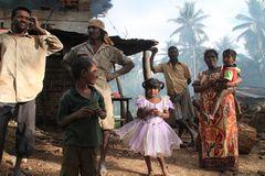 Familie Kalkbrenner Sri Lanka street Ü1333K