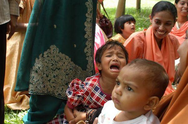 Familienausflug in Sri Lanka