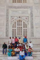 Familienausflug zum Taj Mahal