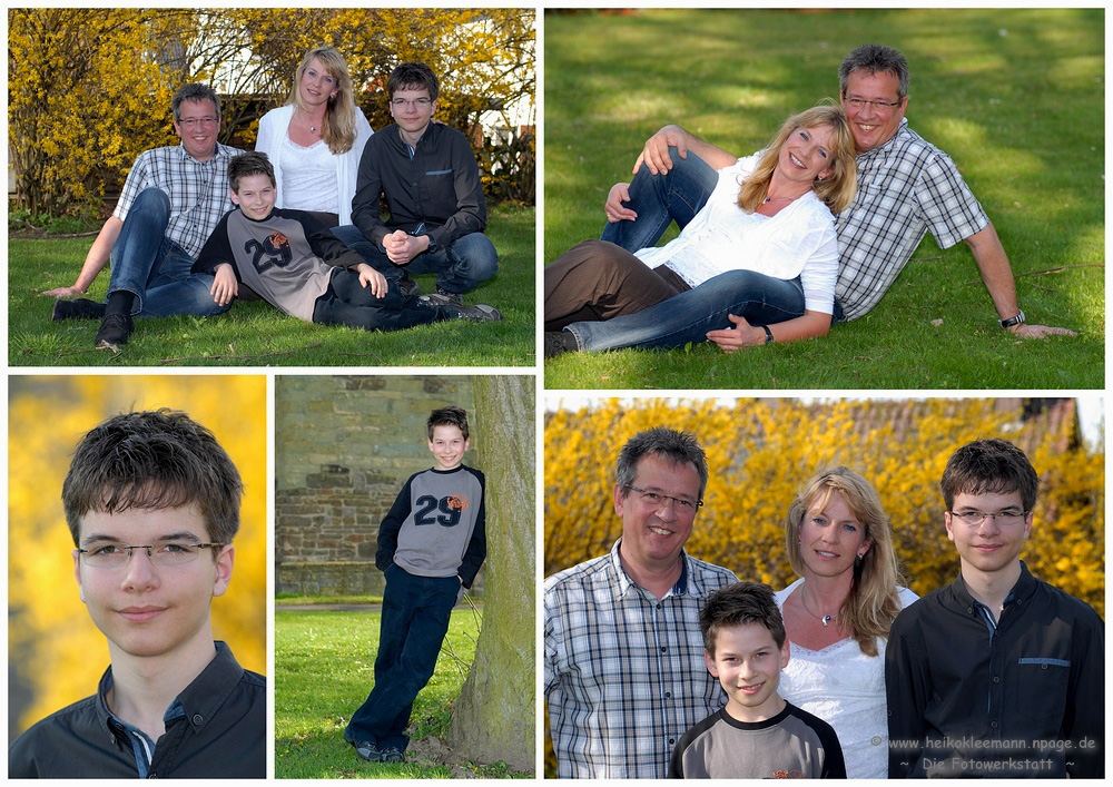 ~ Familiencollage ~