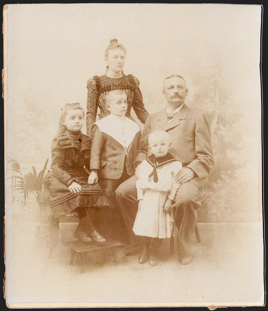 Familienfoto 1907