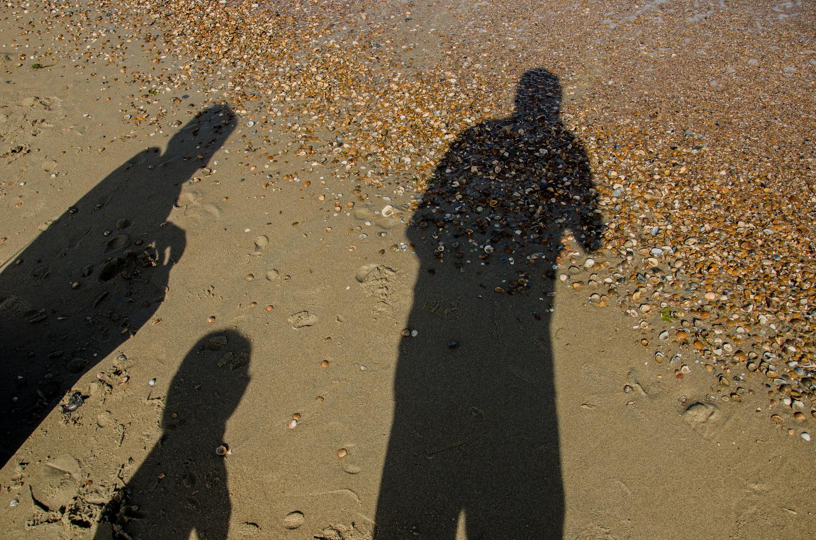 Familienfoto am Strand von Renesse :-)