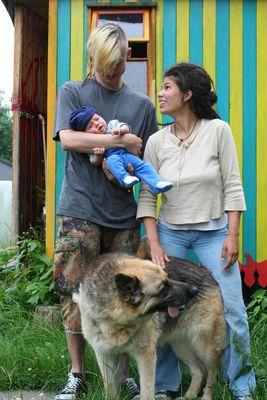 Familienfoto etwas anderer Art