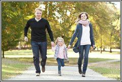 Familienfotos im Herbst 2