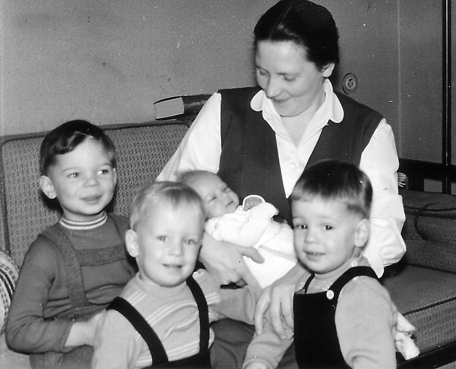 Familienplanung 1958