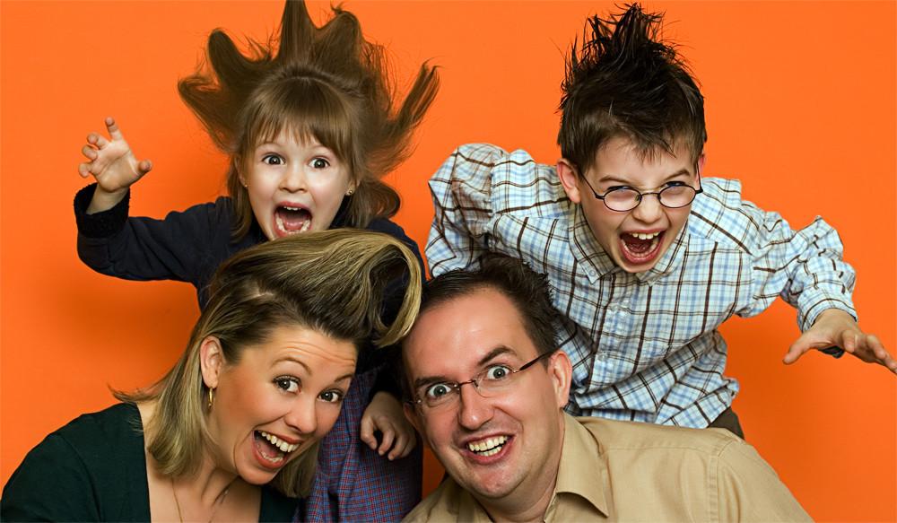 Familienporträt mal anders