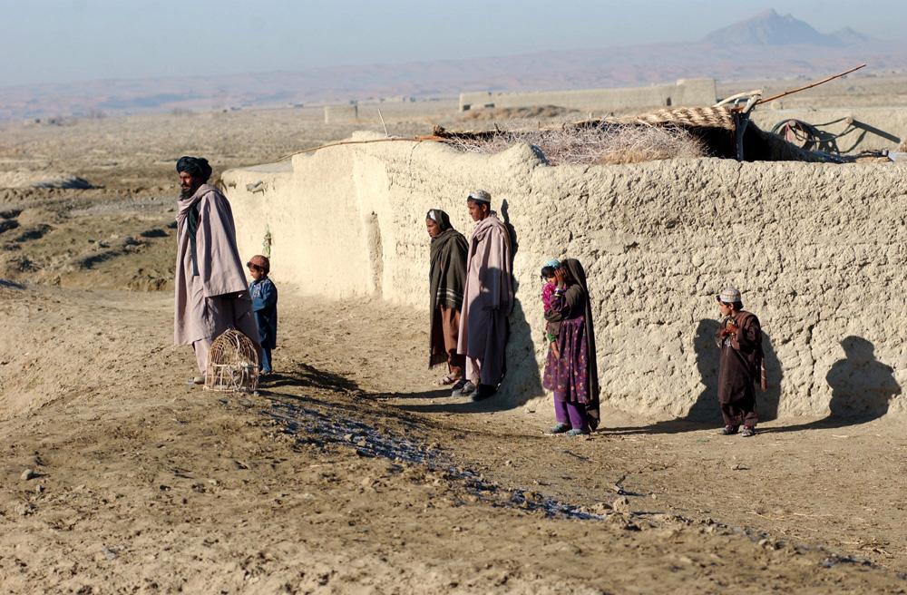 Famille afghane