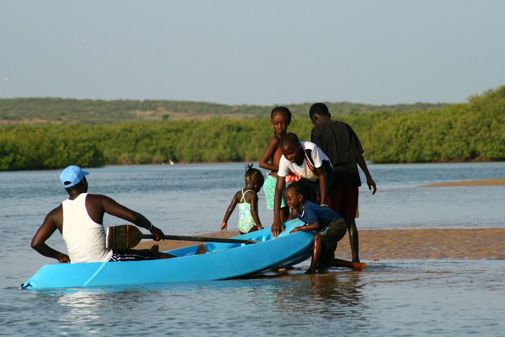 famille sénègalaise