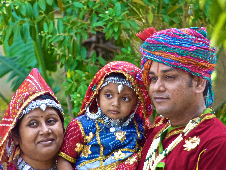 Family in Rajastan