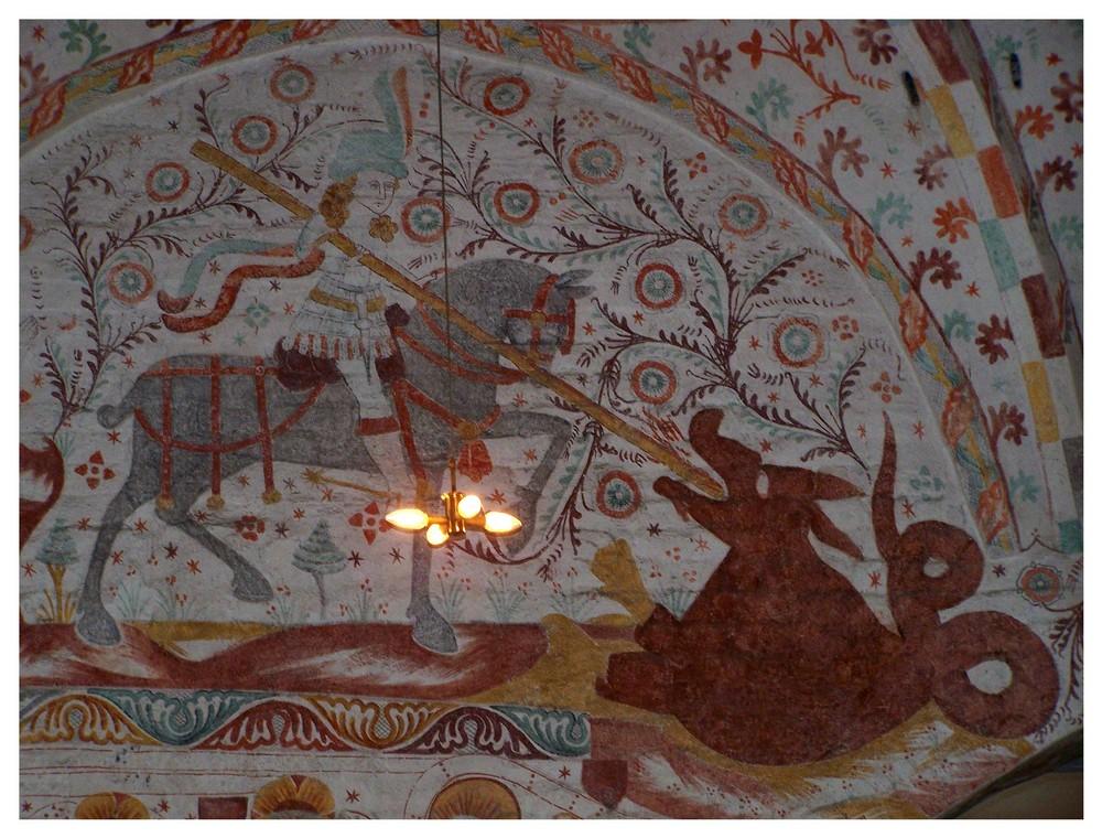 Fanefjord Wandmalerei