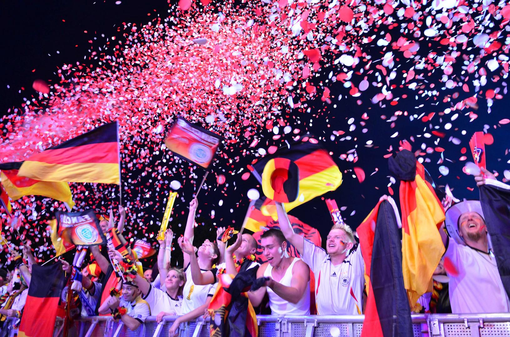 Fanmeile Berlin 2012 Deutschland - Griechenland