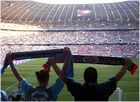 Fans in der Nordkurve der Allianz-Arena