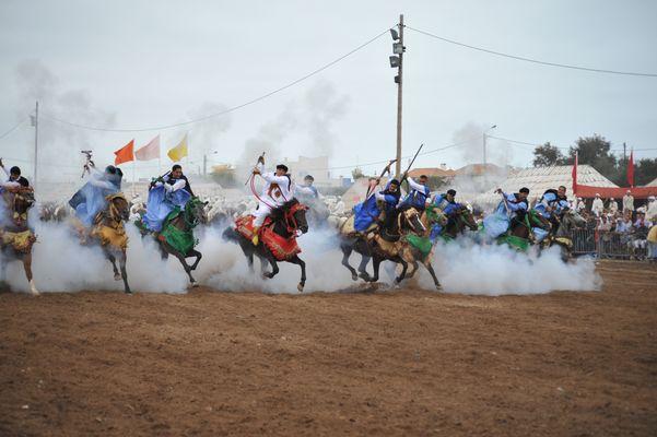 fantasia du maroc-tbourida