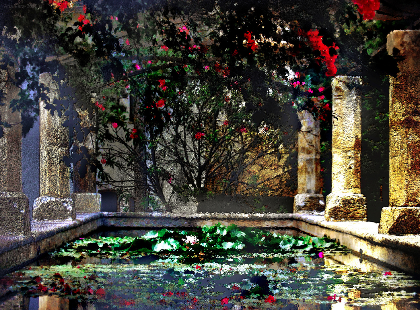 Fantas a en los jardines del obispo palma de mallorca 2 for Jardines mallorca