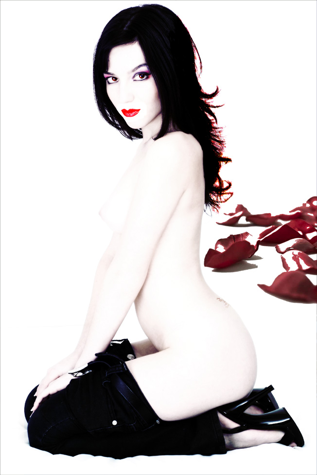 fantasie di bianco e rosso