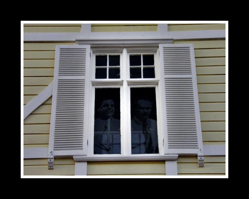 fantasmas en la ventana