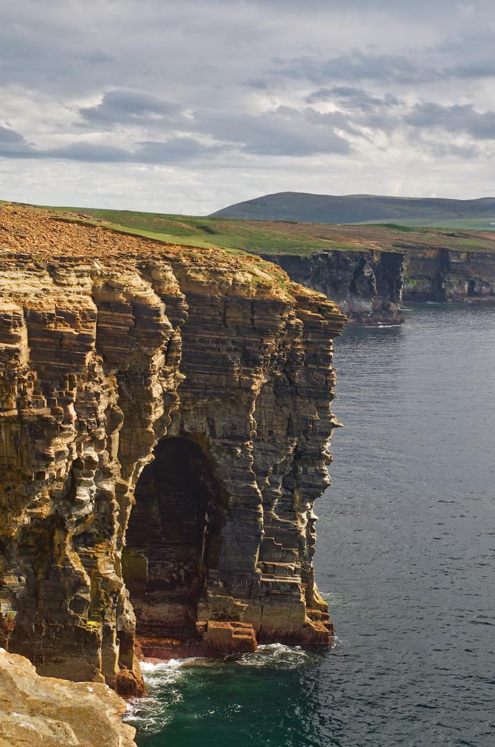 Fantastische Steilküste