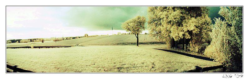 Farb-IR, Panorama, Kanaltausch