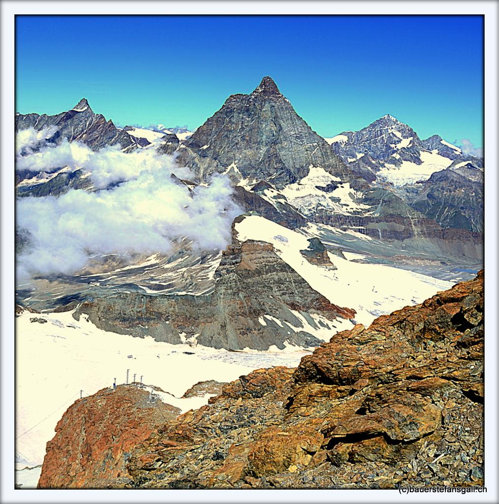 Farbe der Berge II
