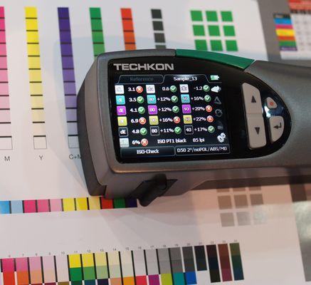 Farbe in meinem Beruf: Farbmessgerät der neuesten Generation