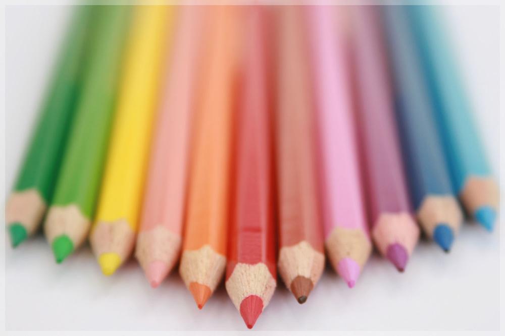 Farbe ins Spiel bringen.