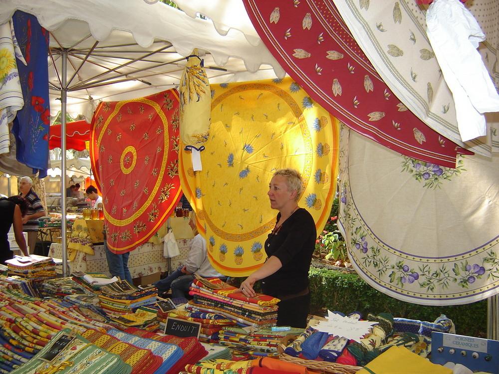 Farben der Provence/ Markt in Aups