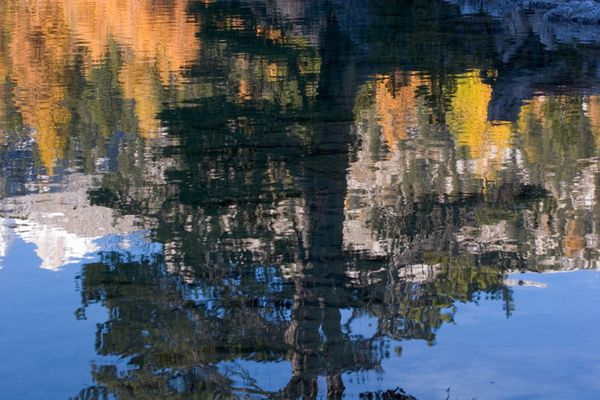 Farben des Herbstes - Spiegelung