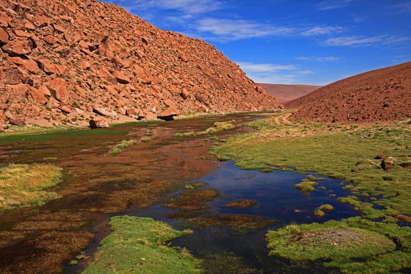 Farben in der Wüste