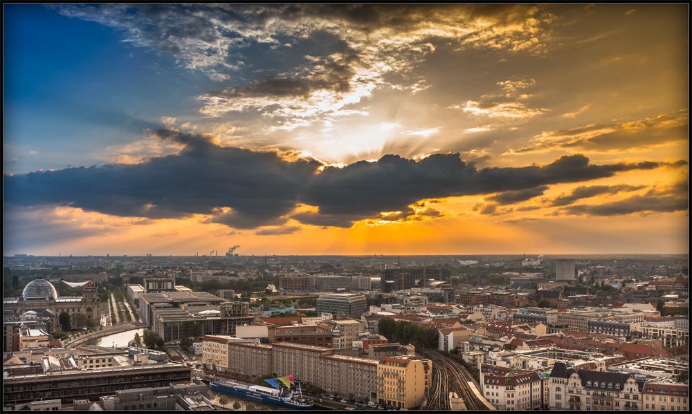 Farben über Berlin