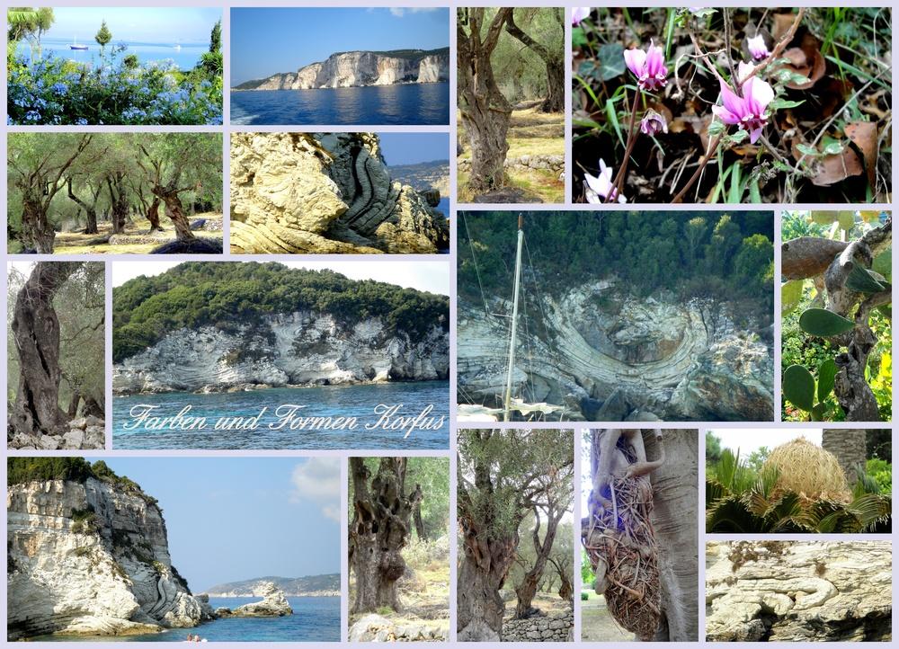 Farben und Formen Korfus