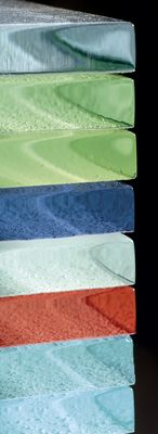 Farbenauswahl Glasfliesen