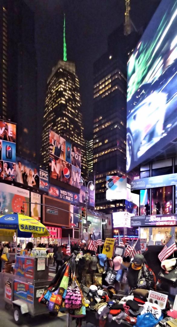 farbenexlosionen am times square new york nov. 2012