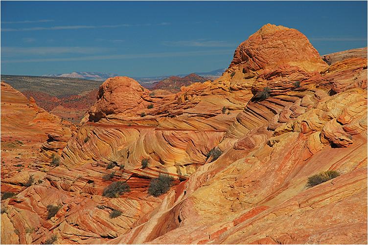 Farbenfrohe Formationen