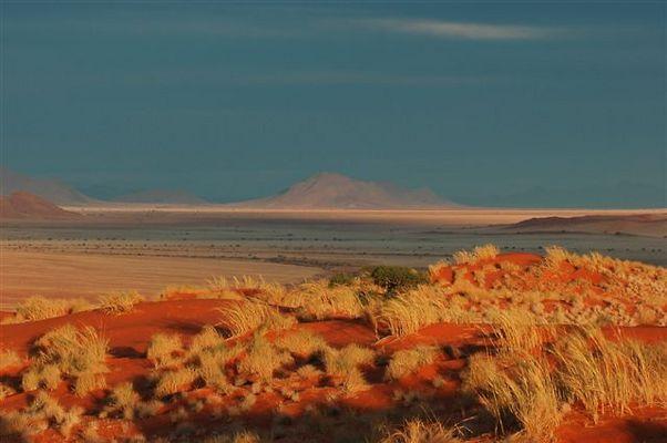 farbenfrohe Wüste
