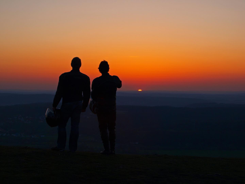 Farbenfroher Sonnenuntergang dank Eyjafjalla-Asche?