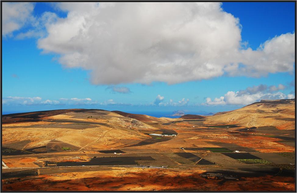 Farbenfrohes Lanzarote...