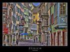 Farbenfrohes Zürich