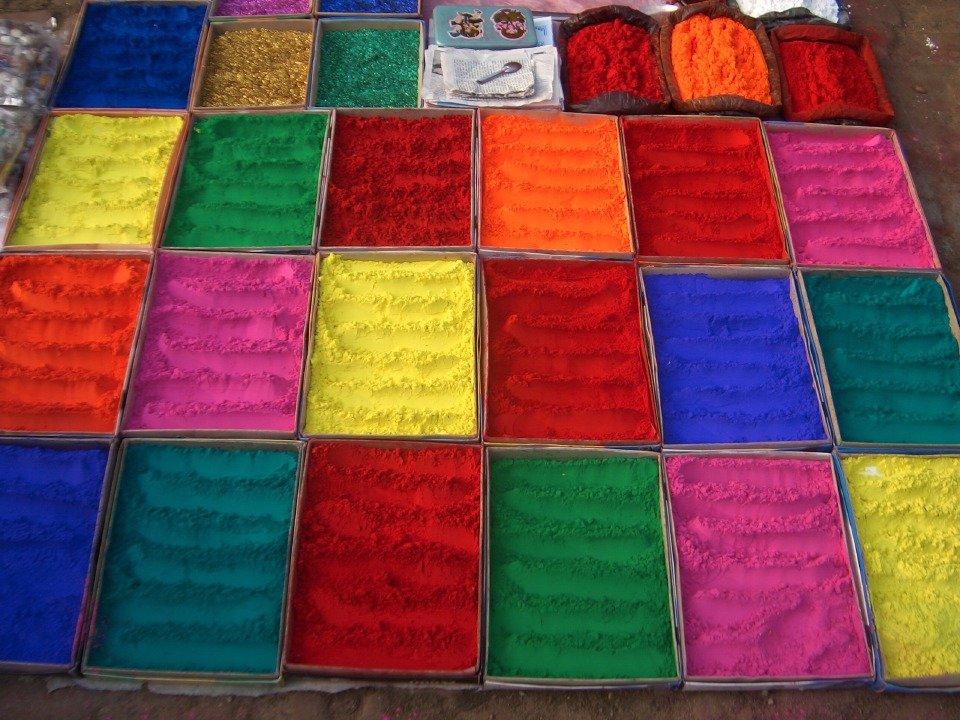 Farbenhändler in Gorkha
