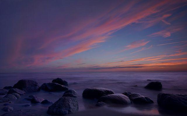 Farbenpalette an der Ostsee
