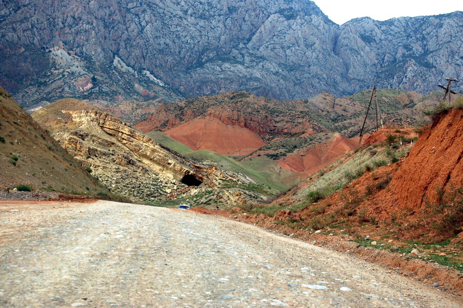 farbenprächtige Erosion