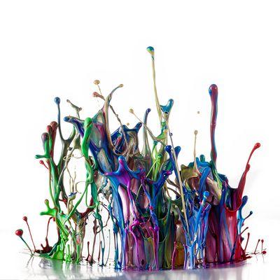 Farbenskulptur