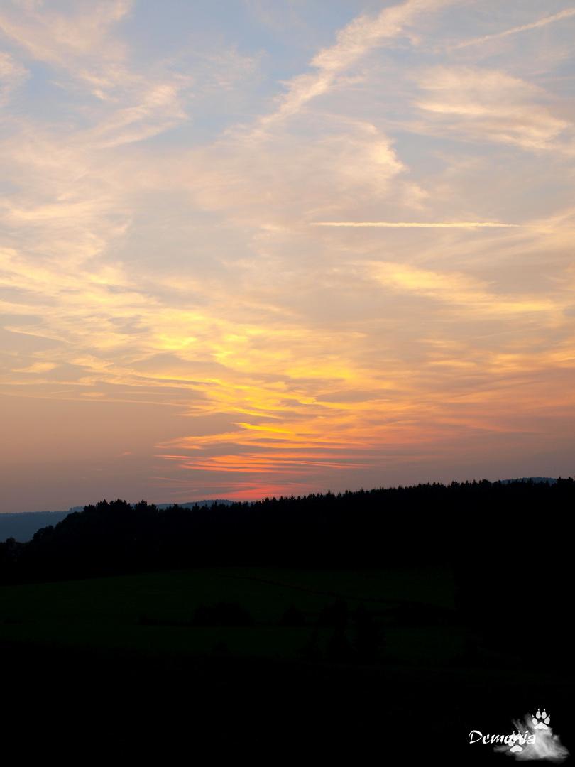 Farbenspiel am Himmel...