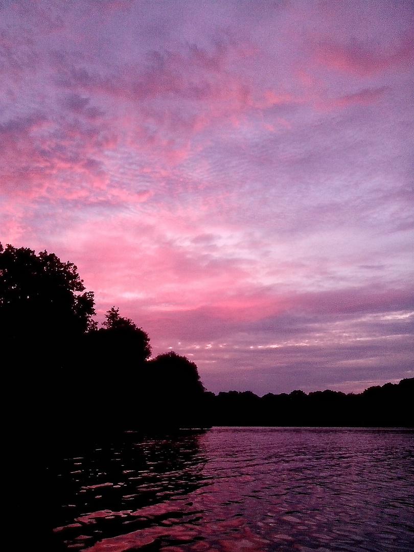 Farbenspiel am Himmel