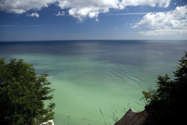 Farbenspiel an Rügens Kreideküste