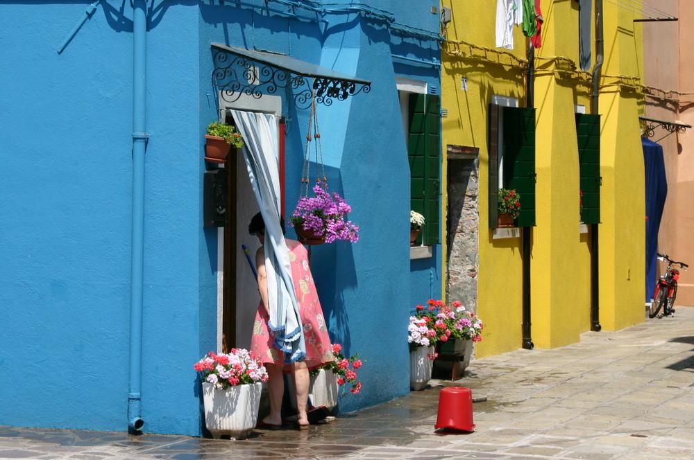 Farbenspiel auf Burano
