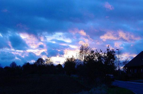Farbenspiel der Sonne