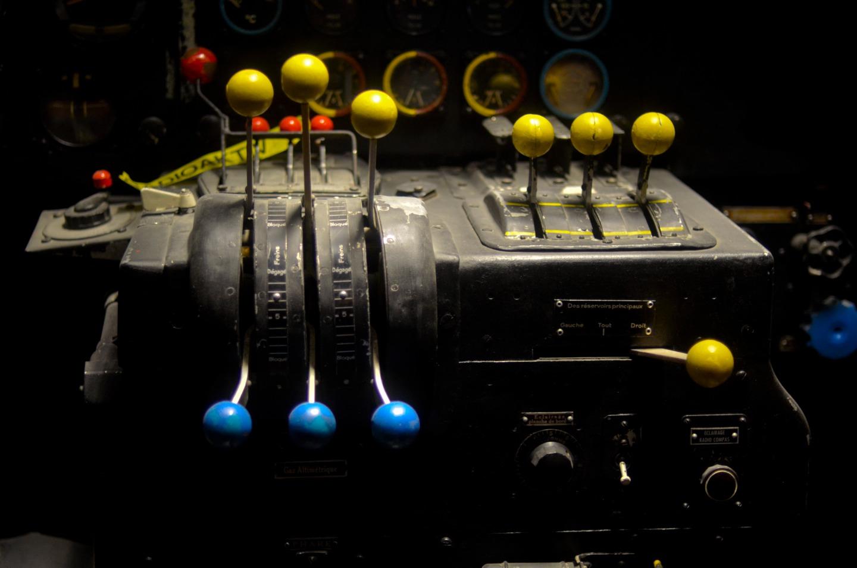 Farbenspiel im Cockpit