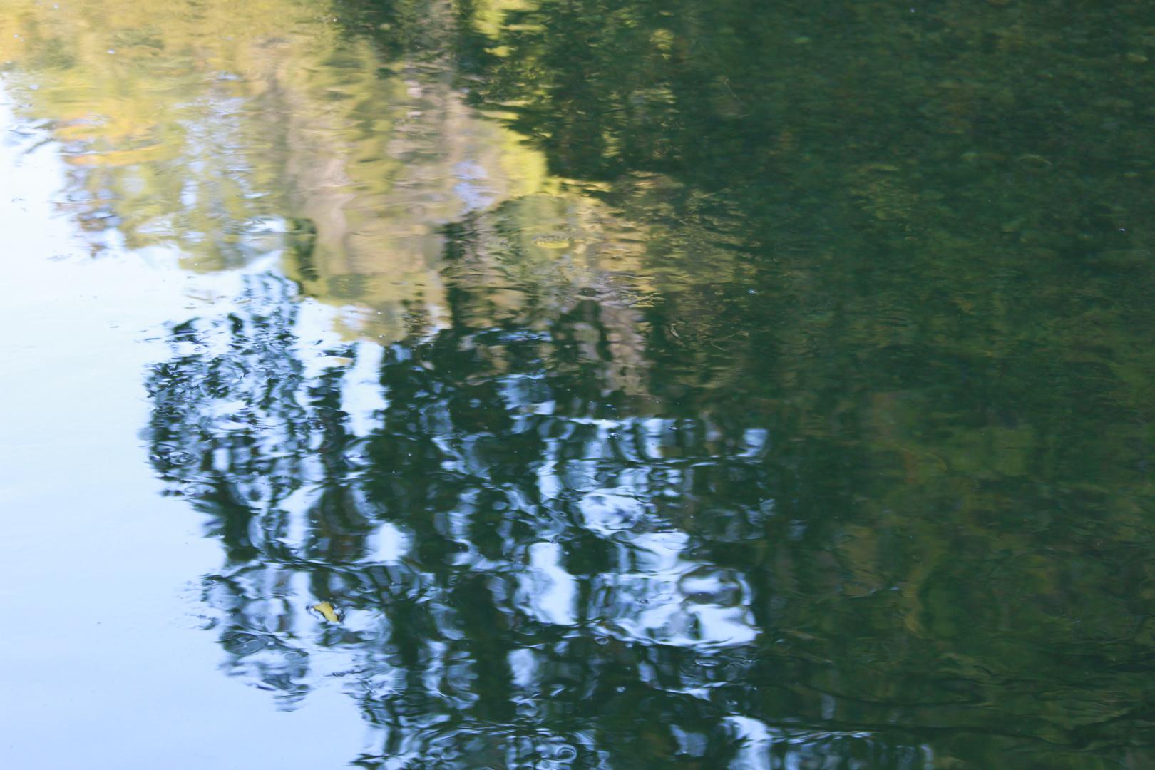 Farbenspiel im Wasser