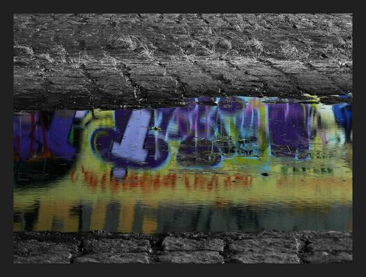 Farbfluss