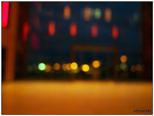 .....farbige Lichter in Altona...